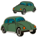Geo-Beetle (Geo-Bug) Geocoin - Green
